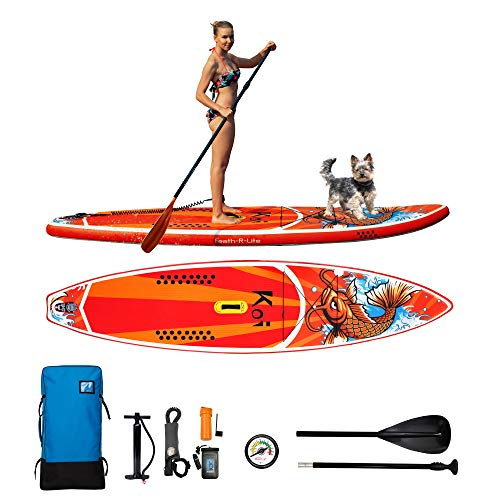FAYEAN Inflatable Stand Up Paddle Board Cruise 11.5'x33 x6 Thick SUP ISUP Board Includes Pump,...