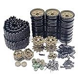 オプションのアクセサリ:オリジナルプラスチックチェーンベルトキャタピラ、駆動輪、誘導輪、耐荷重輪など。 材質:プラスチック/部分金属。 交換が簡単:Henglongのオリジナルのプラスチック部品は丈夫で耐久性があり、損傷した部品と完全に一致して修復し、交換が非常に簡単です。 該当するリモートコントロールタンクモデル:Henglong1/ 16 ロシアのT-90主力戦車(3938)。 注:正しく一致する正しいタンクモデルを確認してください。 優れたサービス:当社の製品についてご不明な点がございまし...