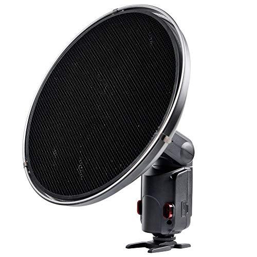 Godox AD-S3 Witstro Beauty-Dish Reflektor mit Wabenfilter für AD180/360 schwarz