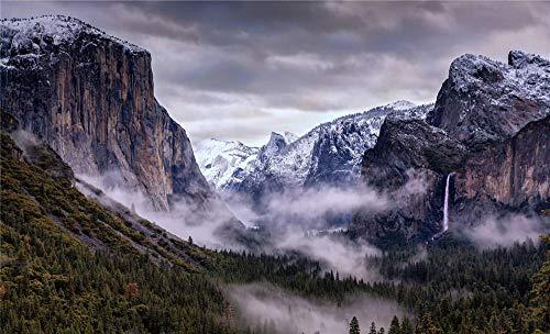 NOBRAND Rompecabezas Rompecabezas 1000 Piezas Paisaje del Parque Nacional De Yosemite para Amigo Adulto