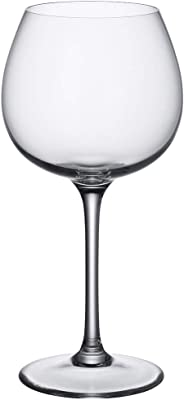 Villeroy & Boch Purismo Red Wine Goblet Full Bodied, 550 ml, Crystal Glass, Transparent, 208 mm
