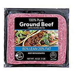 Swift 80% Lean, Ground Beef, 16 Ounce