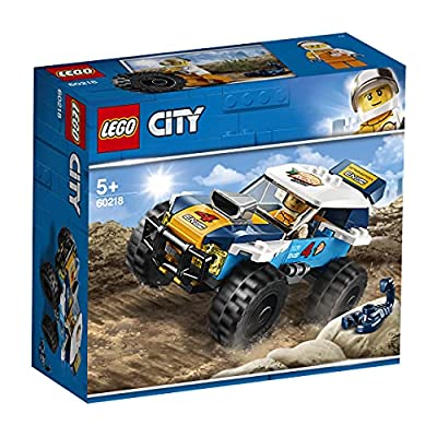 LEGO 60218 City Great Vehicles Desert Rally Racer Toy Car, Racing Cars for Kids 5+ Years Old