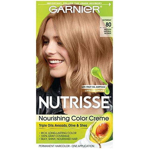 GARNIER - Nutrisse Nourishing Color Creme 80 Medium Natural Blonde - 1 Application