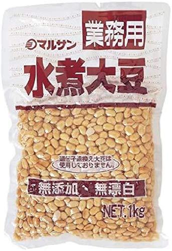 マルサン 業務用 カナダ産 水煮大豆 1Kg