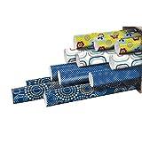 Clairefontaine 211413AMZC Carton 10 rlx 2m Alliance Papier Cadeau Assortis Seventies