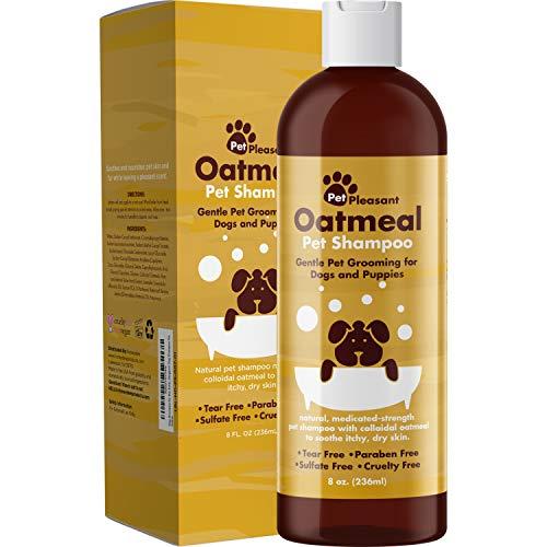 Deodorizing Dog Shampoo for Dry Skin - Moisturizing Colloidal...