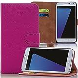 numerva Huawei Ascend Y530 Hülle, Schutzhülle [Bookstyle Handytasche Standfunktion, Kartenfach] PU Leder Tasche für Huawei Ascend Y530 Wallet Hülle [Pink]