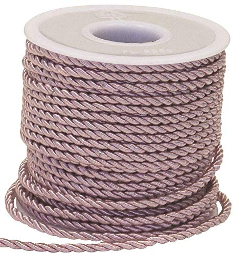 Nastro corda cordino ROSA 3 mm x 25 metri