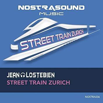 Street Train Zurich