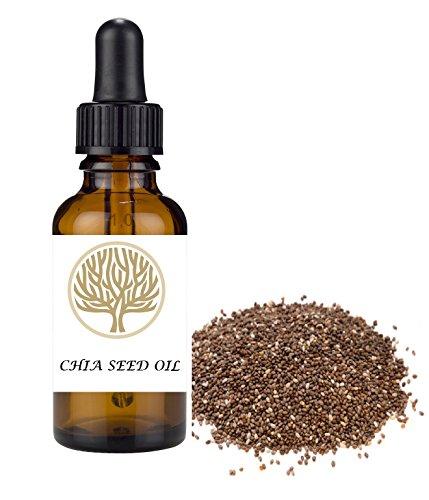 100% natural chia seme vergine olio. antiossidante, anti-invecchiamento, rigenerazione dei tessuti...