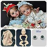 Binxing Toys 30CM Kits Reborn sin Pintar Kits de Hadas DIY Kits de muñecas Reborn Miembros completos + Cabeza + Cuerpo + Ojos