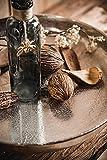 Dekoteller Schale Servierplatte Aluminium Deko Dekoration Silber Luxus - Moderne Dekoschale aus Metall - Tischdeko Hochzeit - Weihnachtsdeko für Wohnzimmer, Esszimmer oder Küche - XXL 40 cm - 9