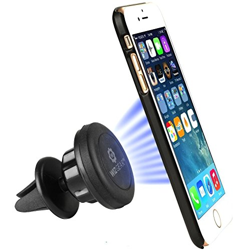 wizgear Universal Air Vent magnetisch KFZ Halterung Halter für Handys & Mini Tablets mit Fast swift-snap Technologie Magnetverschluss Handy Halterung Mit Schwenkkopf