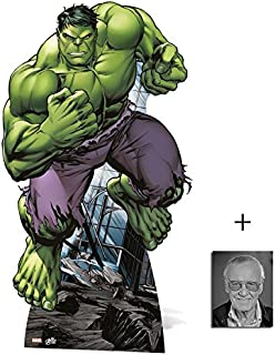 Fan Pack - The Hulk Mini Cardboard Cutout/Standee / Standup - Marvel The Avengers Super Hero Includes 8x10 (20x25cm) Photo Includes 8x10 (20x25cm) Photo