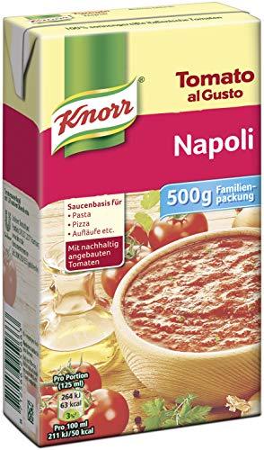 Knorr Tomato al Gusto Family Napoli Soße, 1er-Pack (1 x 500 g)