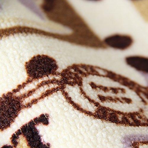 Carvapet 3 Pieces Non-Slip Kitchen Mat Set Rubber Backing Doormat Runner Rug Set Coffee Design (Brown 15