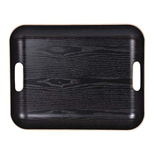 Plateau rectangle 45 x 36 Classic noir