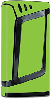 Skin Vinyl Decal for Smok Alien 220W TC Vape Mod / with Grip-Guard Technology stickers skins cover/ Lime Green