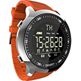 MK18 Inteligente Inteligente Reloj Deportivo LCD Podómetros Impermeables Mensaje Recordatorio BT Natación al Aire Libre Hombres Smartwatch Cronómetro para iOS Android
