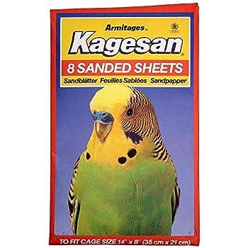 Petblis Kagesan N°3 Lot de 8 Feuilles de Sable Orange 35,6 x 20,3 cm 100 g