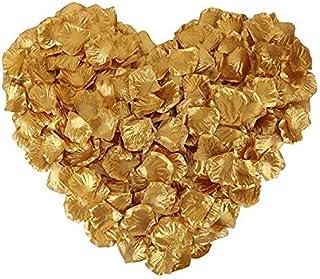 Rose Petals 1000pcs Silk Artificial Fabric Flower for Valentine Ceremony Wedding or Home Hotel Garden Bouquet Party Decora...