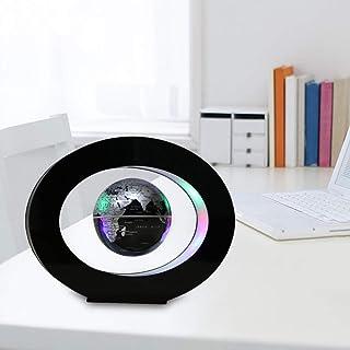 مجسم الكرة الأرضية العائمة مع أضواء LED ملونة مضادة للجاذبية والتفاف المغناطيسي خريطة العالم للأطفال كهدية في منزل المكتب