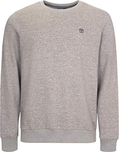 Elkline Mancave Sweat Pullover Herren lightgreymelange Größe XL 2019 Midlayer