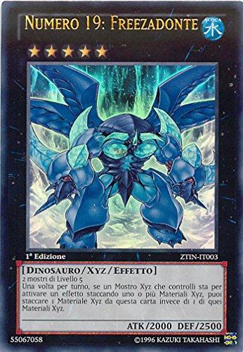 YU-GI-OH! - ZTIN-IT003 - Numero 19: Freezadonte - Collezione Zexal - 1st Edition - Ultra Rara