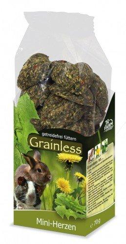 JR Grainless Mini-Herzen Größe 4 x 150g