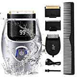 Electric Razor for Men, 2 in 1 Professional Electric Foil Shavers for Barbers, Beard Trimmer & Hair Clipper Dual purpose Shaving Kit, Waterproof Wet Dry Shaver, USB Rechargeable