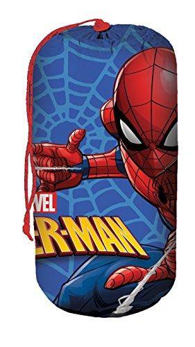 Desconocido Kids Licensing - Saco de Dormir con diseño de Spiderman - Se Puede Transportar fácilmente - MV15279