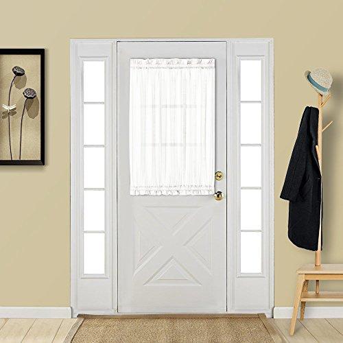 cortinas cocina puerta exterior