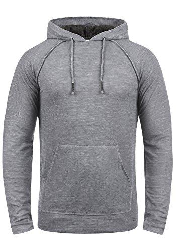 !Solid Mosi Herren Kapuzenpullover Hoodie Pullover Mit Kapuze Aus 100% Baumwolle, Größe:XXL, Farbe:Mid Grey (2842)