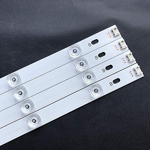 Childlike Backlight Strip 4 Lamp Beads Lichtleiste, 8 STÜCKE LED Lichtleiste Für LG 42-Zoll-Fernseher INNOTEK DRT 3.0 42