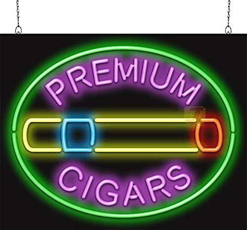 Premium Cigars Neon Sign - SSZ-50-21
