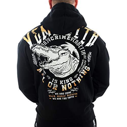 Vendetta Inc. Herren Männer Jacke Sweatjacke VD-3004 Black Money (S)
