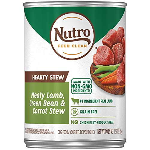 NUTRO Hearty Stews Adult Wet Dog food, 12.5...