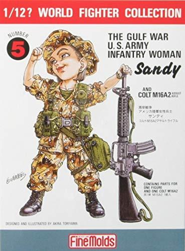 1/12 World Series Fighter FT5 US Army femme soldat Sandy (guerre du Golfe) (Japon import / Le paquet et le manuel sont en japonais)