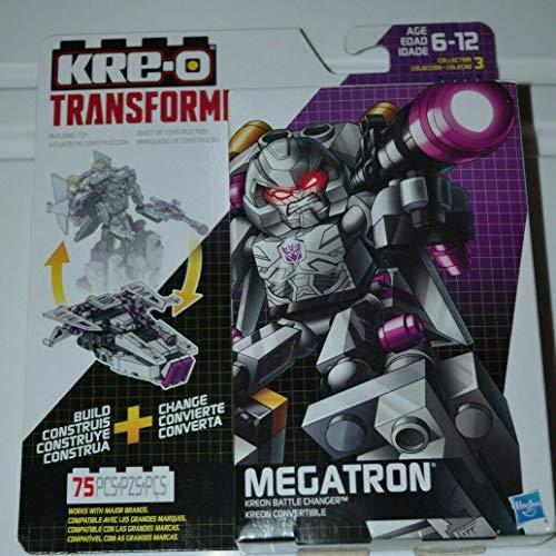Transformers New Hasbro KRE-O Megatron Battle Changer Set 75 PCS