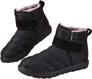 GaraTia Women Warm Snow Boots Winter Waterproof Ankle Boots Anti-Slip Shoes Booties Outdoor