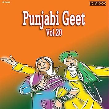 Punjabi Geet Vol 20