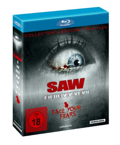 Saw I-VII [Blu-ray]