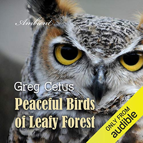 Peaceful Birds of Leafy Forest cover art