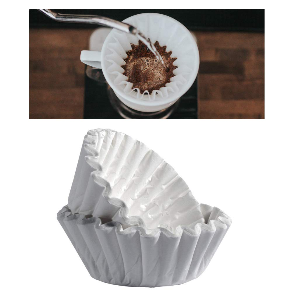 100 Ct Round Coffee Filters Style Denver Mall Paper Brewer Ranking TOP16 Replacemen Basket