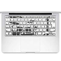 igsticker MacBook Air 13inch 2010 ~ 2017 専用 キーボード用スキンシール キートップ ステッカー A1466 A1369 Apple マックブック エア ノートパソコン アクセサリー 保護 014470 音楽 楽器 バンド