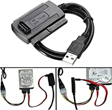 USB 2.0 To SATA/IDE Data Hard Drive Cable For HDD Power Converter Adapter - Arduino Compatible SCM & DIY Kits Programmer & Logic Analyzer - 2 x USB 2.0 to RJ45 LAN Modem Extension Extender