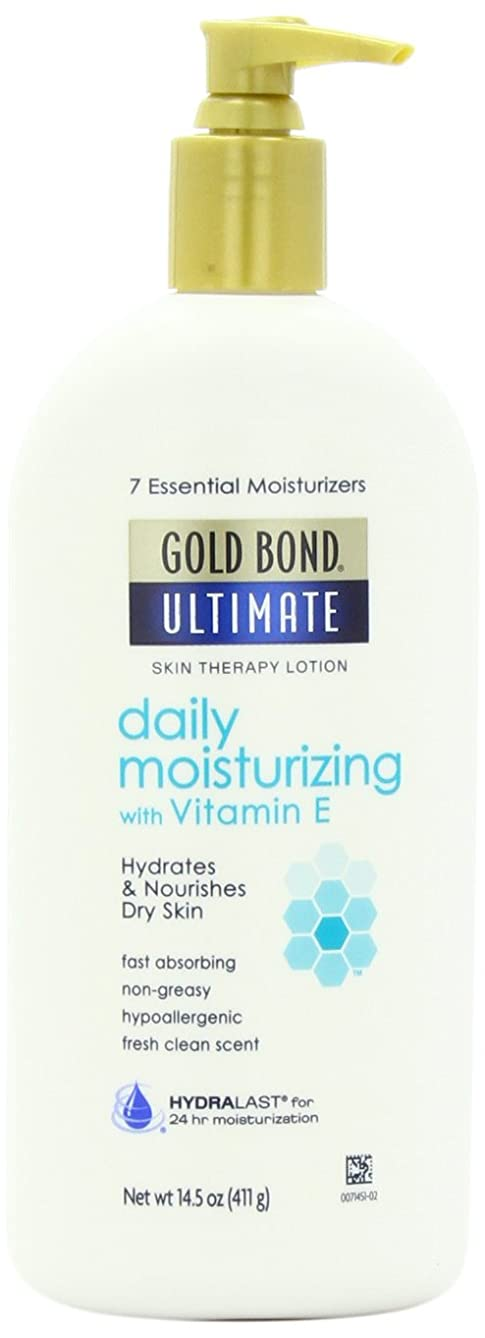 乗算抽選石の海外直送肘 Gold Bond Ultimate Daily Moisturizing Skin Therapy Lotion With Vitamin E, 14.5 oz