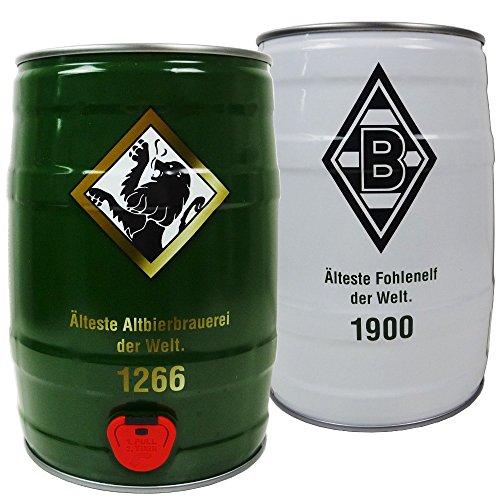 Borussia Mönchengladbach Bierfass / Altbierfass Partyfass 5 l Bolten Altbier