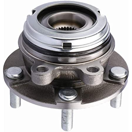 FKG 513294 Front Wheel Bearing Hub Assembly fit for 2007-2012 Nissan Altima 5 Lugs Fits 2.5L 4-Cylinder Models Only